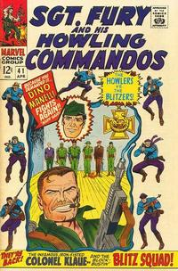 Cover Thumbnail for Sgt. Fury (Marvel, 1963 series) #41