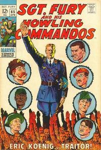 Cover Thumbnail for Sgt. Fury (Marvel, 1963 series) #65