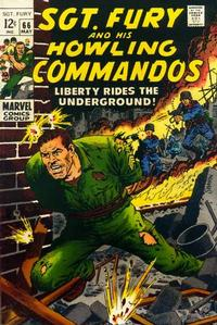 Cover Thumbnail for Sgt. Fury (Marvel, 1963 series) #66