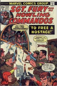 Cover Thumbnail for Sgt. Fury and His Howling Commandos (Marvel, 1974 series) #123