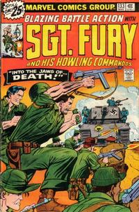 Cover Thumbnail for Sgt. Fury and His Howling Commandos (Marvel, 1974 series) #133