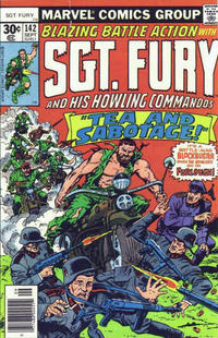 Cover Thumbnail for Sgt. Fury and His Howling Commandos (Marvel, 1974 series) #142 [30 cent cover]