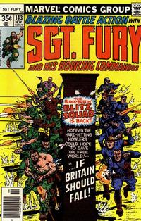Cover Thumbnail for Sgt. Fury and His Howling Commandos (Marvel, 1974 series) #143
