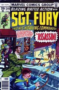 Cover Thumbnail for Sgt. Fury and His Howling Commandos (Marvel, 1974 series) #146