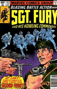 Cover Thumbnail for Sgt. Fury and His Howling Commandos (Marvel, 1974 series) #153