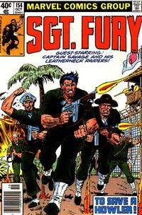 Cover Thumbnail for Sgt. Fury and His Howling Commandos (Marvel, 1974 series) #154