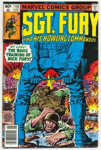 Cover Thumbnail for Sgt. Fury and His Howling Commandos (Marvel, 1974 series) #158