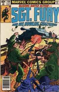 Cover Thumbnail for Sgt. Fury and His Howling Commandos (Marvel, 1974 series) #159