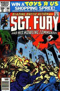 Cover Thumbnail for Sgt. Fury and His Howling Commandos (Marvel, 1974 series) #160