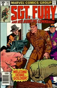Cover Thumbnail for Sgt. Fury and His Howling Commandos (Marvel, 1974 series) #162