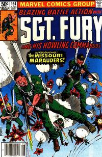 Cover Thumbnail for Sgt. Fury and His Howling Commandos (Marvel, 1974 series) #164
