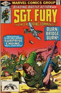 Cover Thumbnail for Sgt. Fury and His Howling Commandos (Marvel, 1974 series) #165