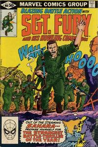 Cover Thumbnail for Sgt. Fury and His Howling Commandos (Marvel, 1974 series) #166