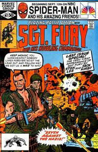 Cover Thumbnail for Sgt. Fury and His Howling Commandos (Marvel, 1974 series) #167 [Direct Edition]