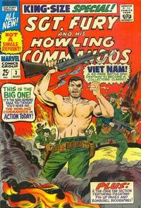 Cover Thumbnail for Sgt. Fury Annual (Marvel, 1965 series) #3