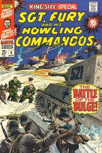 Cover Thumbnail for Sgt. Fury Annual (Marvel, 1965 series) #4