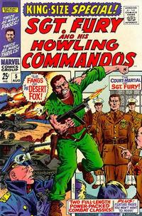 Cover Thumbnail for Sgt. Fury Annual (Marvel, 1965 series) #5