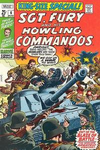 Cover Thumbnail for Sgt. Fury Annual (Marvel, 1965 series) #6