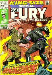 Cover Thumbnail for Sgt. Fury Annual (Marvel, 1965 series) #7