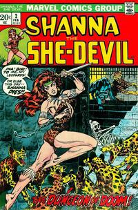 Cover Thumbnail for Shanna, the She-Devil (Marvel, 1972 series) #2
