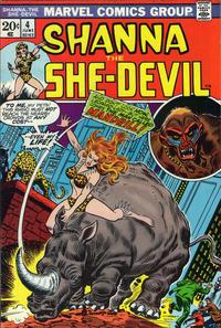 Cover Thumbnail for Shanna, the She-Devil (Marvel, 1972 series) #4