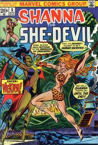 Cover for Shanna, the She-Devil (Marvel, 1972 series) #5