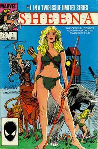 Cover Thumbnail for Sheena (Marvel, 1984 series) #1