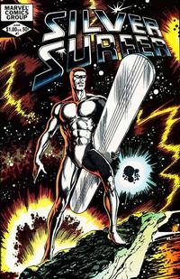 Cover Thumbnail for Silver Surfer (Marvel, 1982 series) #1