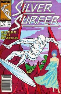 Cover Thumbnail for Silver Surfer (Marvel, 1987 series) #2 [Newsstand]