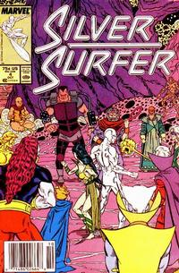 Cover Thumbnail for Silver Surfer (Marvel, 1987 series) #4 [Newsstand]