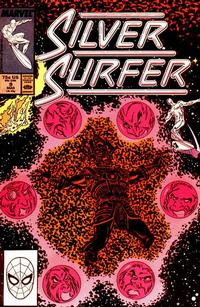Cover for Silver Surfer (Marvel, 1987 series) #9