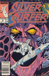 Cover for Silver Surfer (Marvel, 1987 series) #22