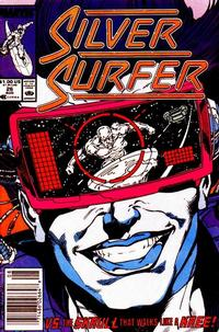 Cover for Silver Surfer (Marvel, 1987 series) #26