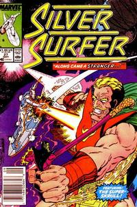 Cover for Silver Surfer (Marvel, 1987 series) #27