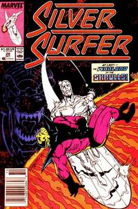 Cover for Silver Surfer (Marvel, 1987 series) #28