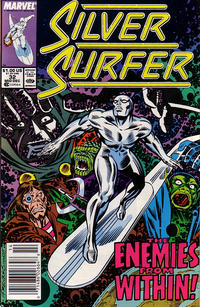 Cover Thumbnail for Silver Surfer (Marvel, 1987 series) #32 [Newsstand Edition]