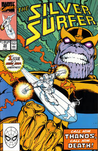 Cover for Silver Surfer (Marvel, 1987 series) #34