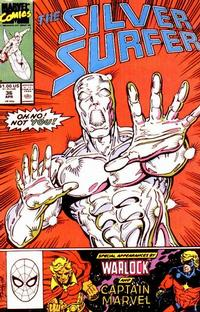 Cover Thumbnail for Silver Surfer (Marvel, 1987 series) #36