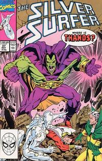 Cover Thumbnail for Silver Surfer (Marvel, 1987 series) #37