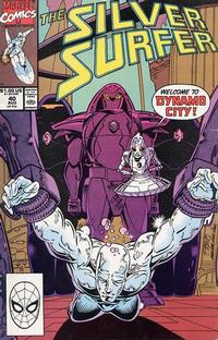 Cover for Silver Surfer (Marvel, 1987 series) #40