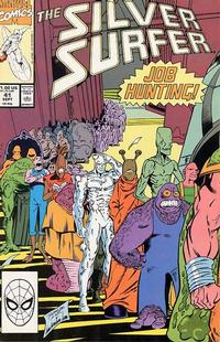 Cover Thumbnail for Silver Surfer (Marvel, 1987 series) #41