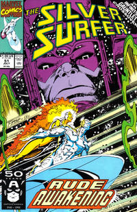 Cover Thumbnail for Silver Surfer (Marvel, 1987 series) #51 [Direct]