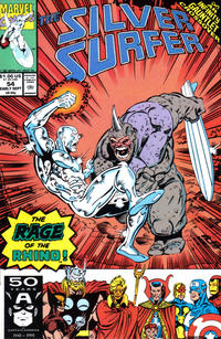 Cover Thumbnail for Silver Surfer (Marvel, 1987 series) #54