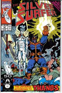 Cover Thumbnail for Silver Surfer (Marvel, 1987 series) #55 [Direct]