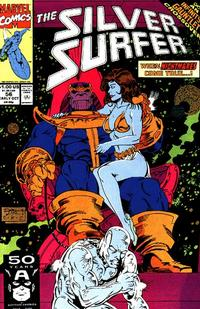 Cover Thumbnail for Silver Surfer (Marvel, 1987 series) #56 [Direct]