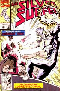 Cover Thumbnail for Silver Surfer (Marvel, 1987 series) #60 [Direct]