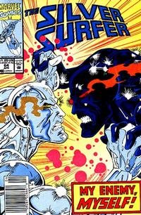 Cover Thumbnail for Silver Surfer (Marvel, 1987 series) #64 [Newsstand Edition]