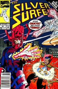 Cover Thumbnail for Silver Surfer (Marvel, 1987 series) #67 [Newsstand Edition]
