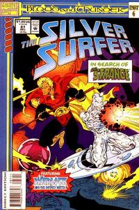 Cover Thumbnail for Silver Surfer (Marvel, 1987 series) #87