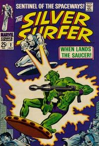 Cover Thumbnail for The Silver Surfer (Marvel, 1968 series) #2